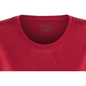 Bergans Oslo Wool Camiseta Mujer, red